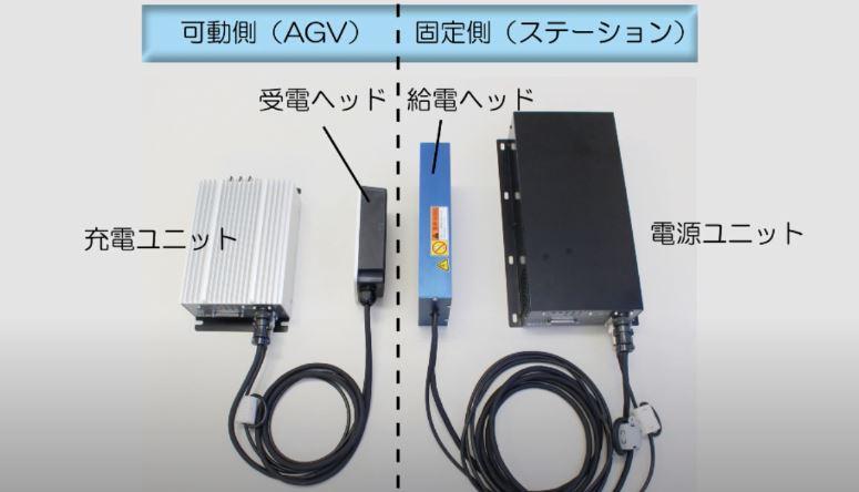 ワイヤレス充電機器構成