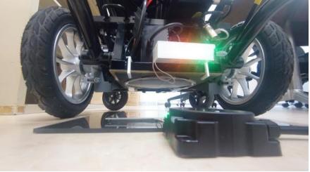 電動車椅子へのワイヤレス充電を実現させます!!