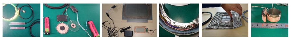ワイヤレス給電試作事例