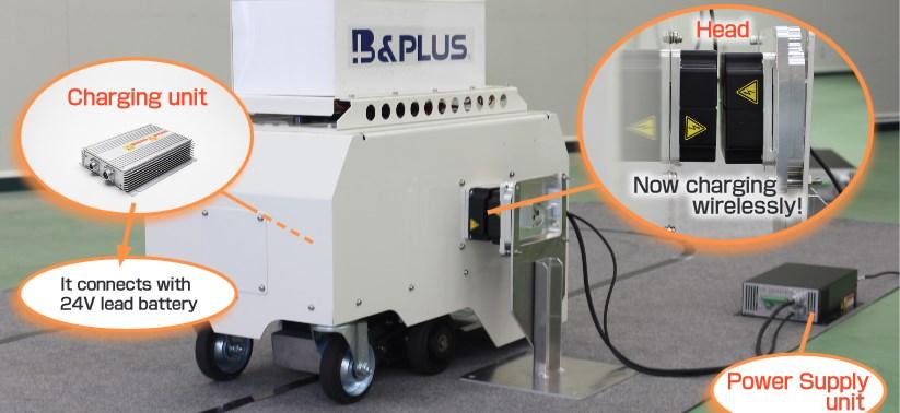 Wireless charging achieve labor savings!
