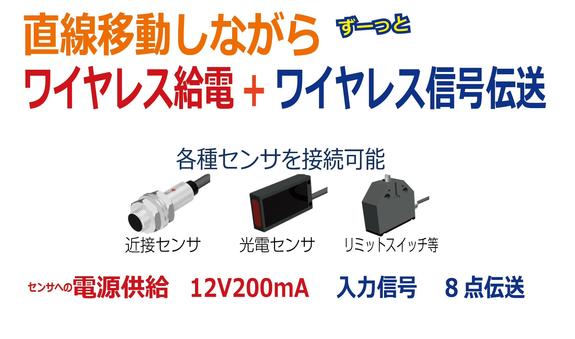 リニアリモートセンサは設備を小型化・高速化し、断線解消します!