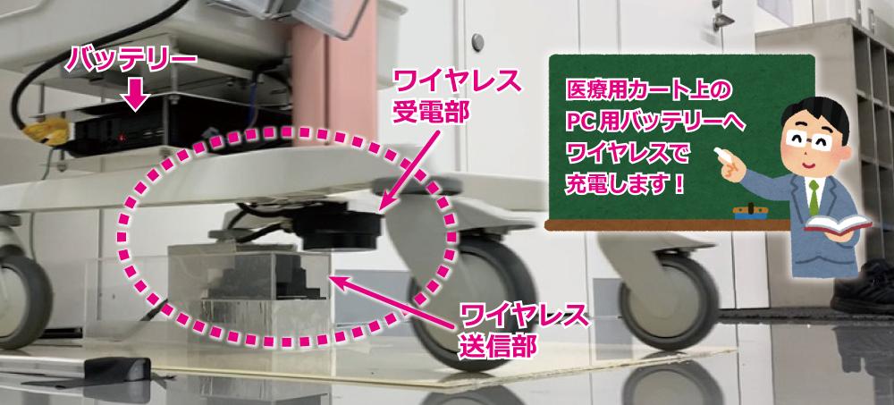 【導入事例】岩崎電気(株)様の医療用カートへスタートアップ試作が採用されました